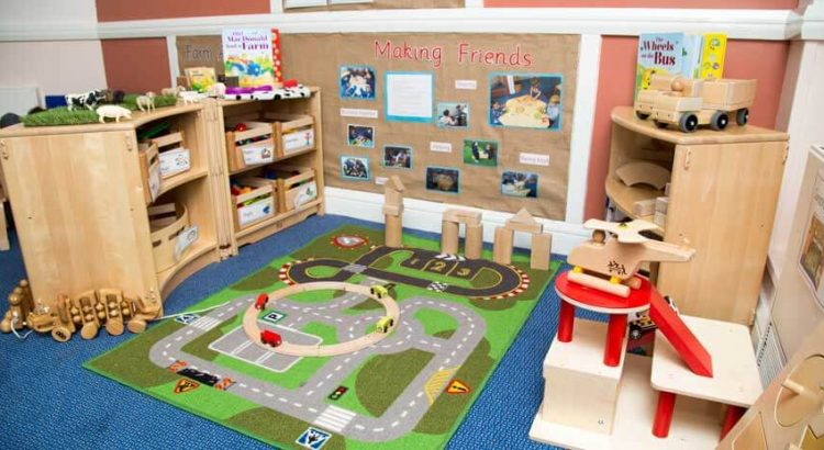 day nurseries encourage learning through play